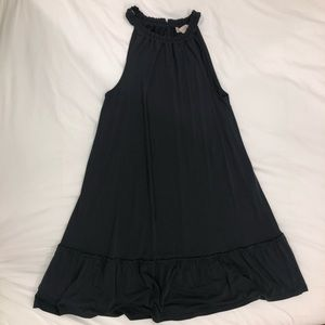 Black/Grey LOFT Sundress